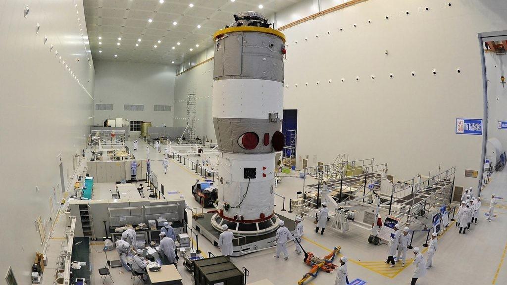 Resultado de imagem para Tiangong-1